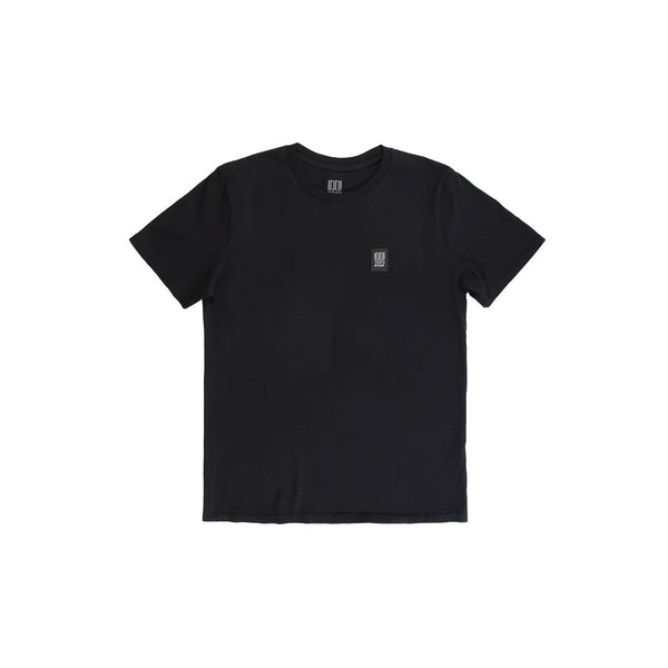 Topo Designs : Label Tee : Black