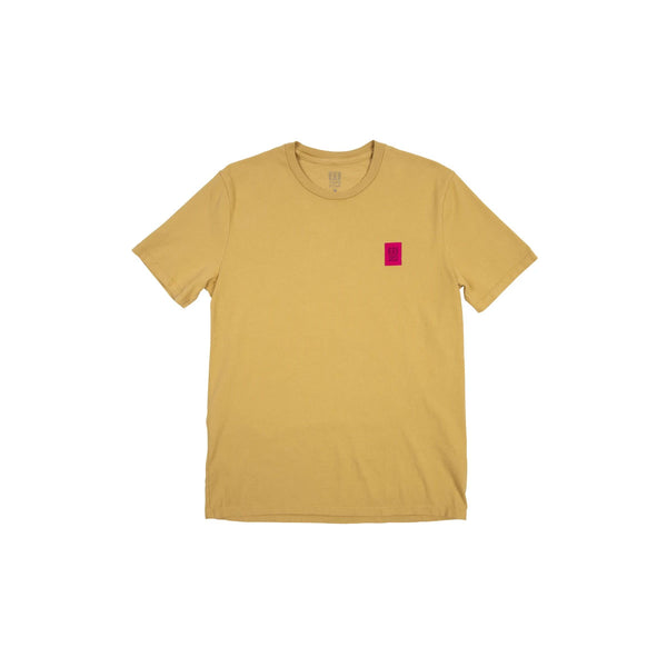 Topo Designs : Label Tee : Tan