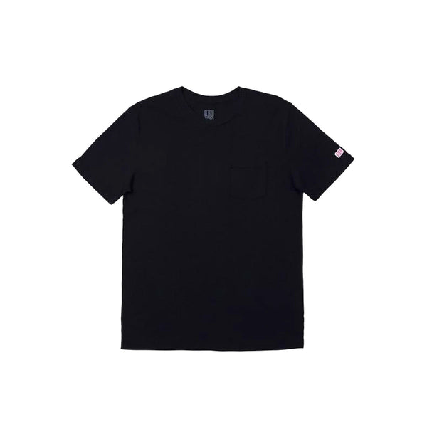 Topo Designs : Pocket Tee : Black