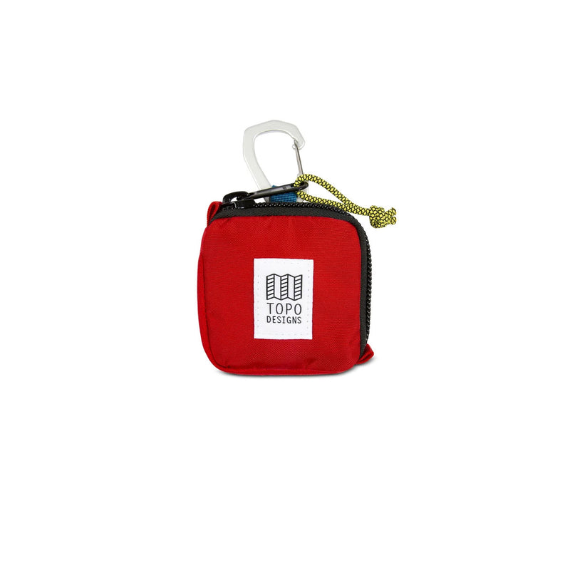 Topo Designs : Square Bag : Red
