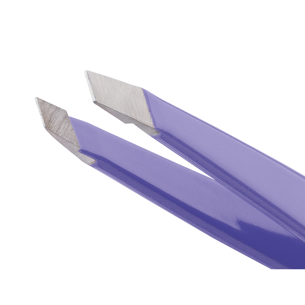 Mini Slant Tweezer - Lovely Lavender Tweezerman - Let it Be Beauty - Free Shipping on orders over $50