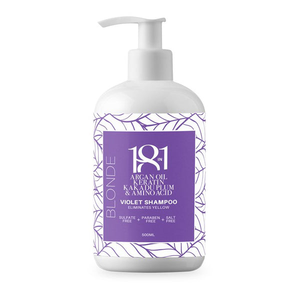 Blonde Violet Shampoo 500ml 18 in 1 - Let it Be Beauty - Your Online Beauty Store