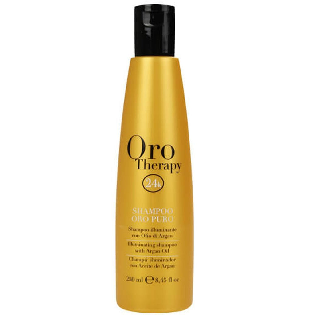 --Argan Oil Shampoo 250ml Fanola Oro Therapy - Let it Be Beauty - Your Online Beauty Store--