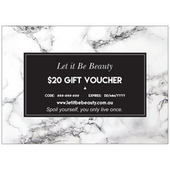 Let it Be Beauty $20 Gift Voucher
