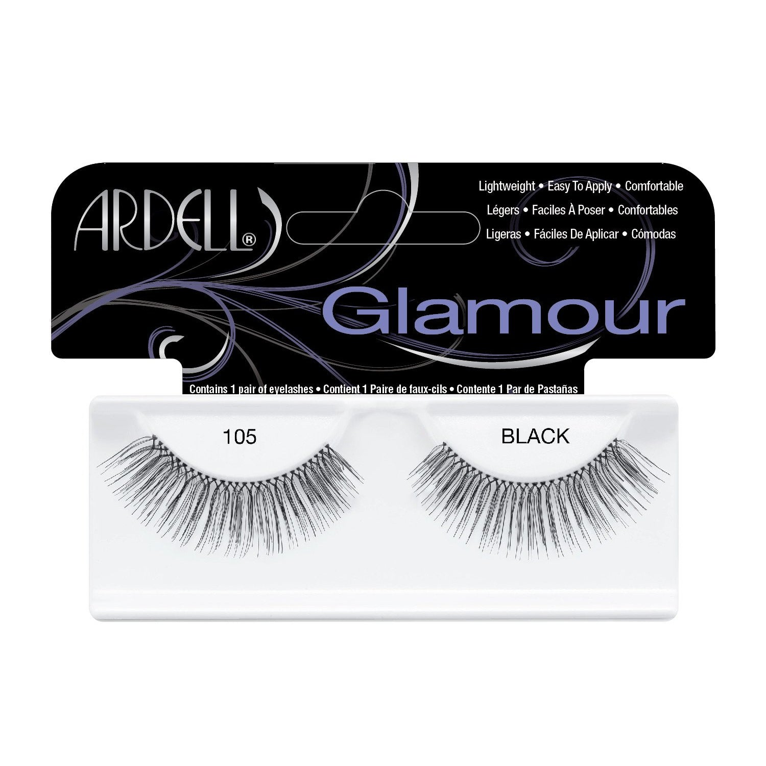 --Glamour Lash 105 Black Ardell - Let it Be Beauty - Your Online Beauty Store--