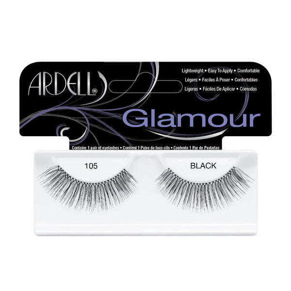 Glamour Lash 105 Black Ardell - Let it Be Beauty - FREE SHIPPING - Afterpay and zipPay available - Beauty products