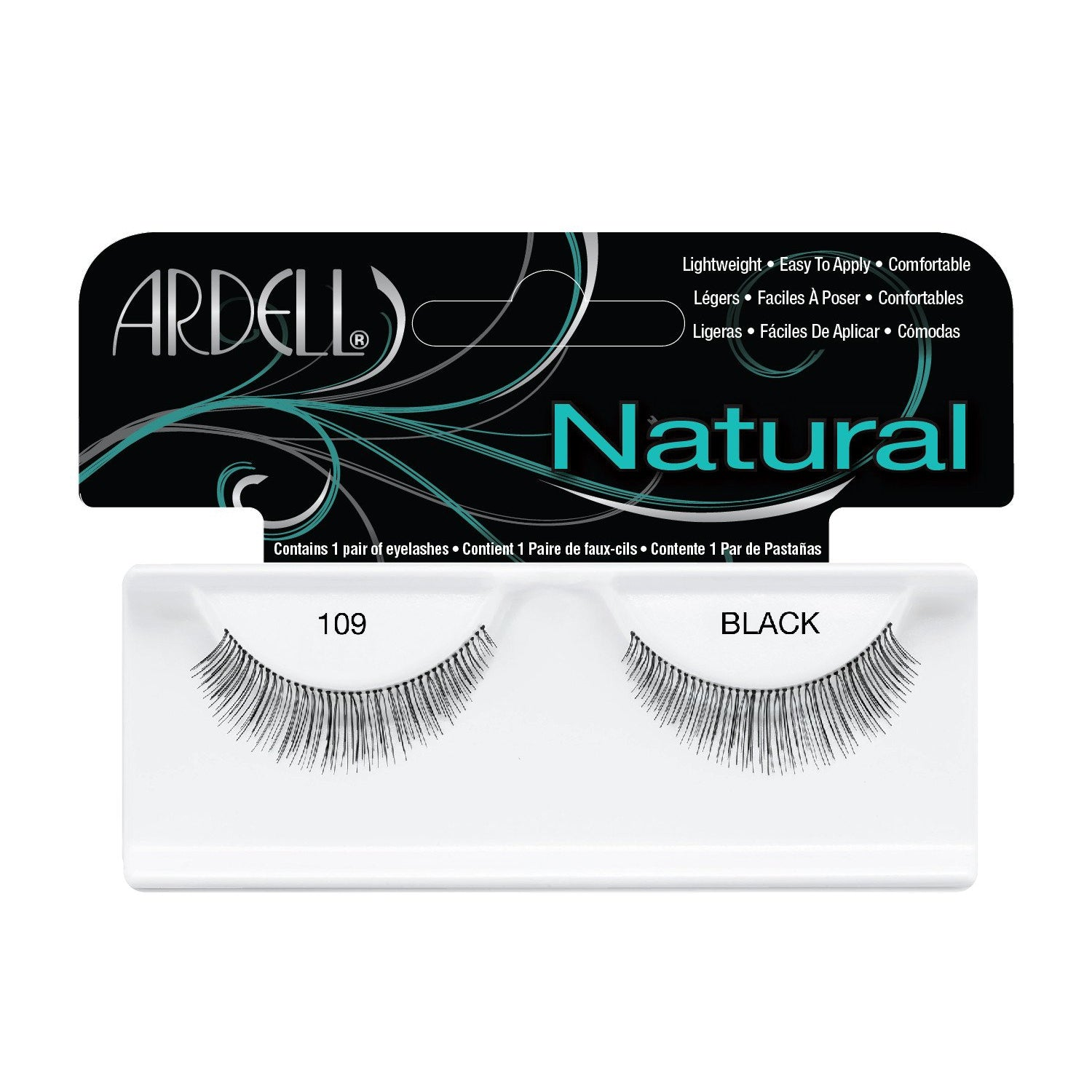 Natural Demi Lash 109 Black
