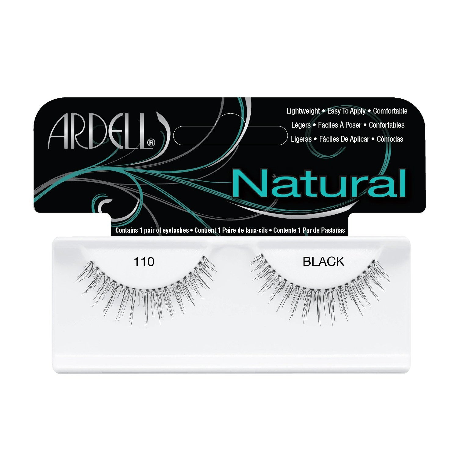 --Natural Lash 110 Black Ardell - Let it Be Beauty - Your Online Beauty Store--