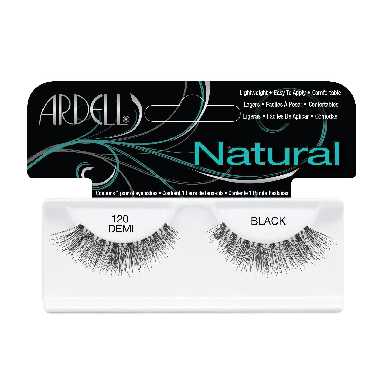 --Natural Demi Lash 120 Black Ardell - Let it Be Beauty - Your Online Beauty Store--