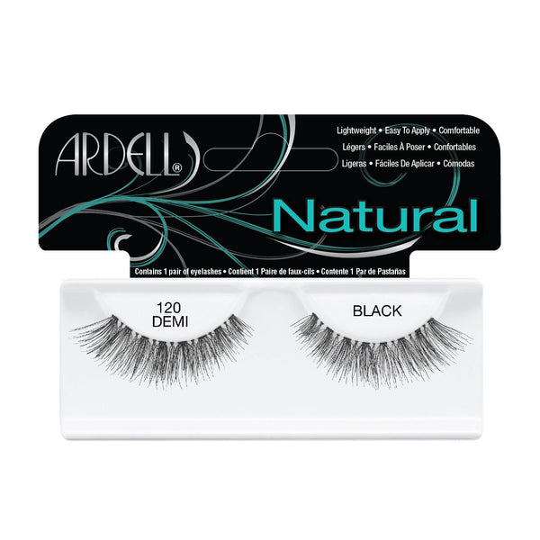 Natural Demi Lash 120 Black Ardell - Let it Be Beauty - FREE SHIPPING - Afterpay and zipPay available - Beauty products