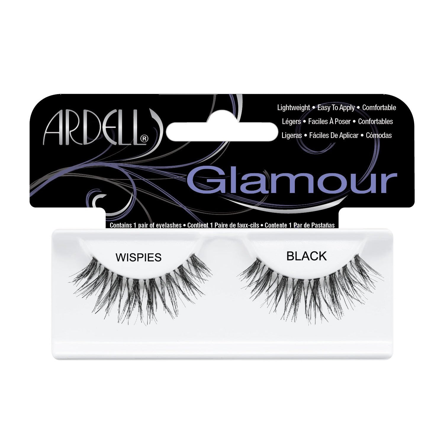 --Wispies Black Lashes Ardell - Let it Be Beauty - FREE SHIPPING - Afterpay and zipPay available - Beauty products--