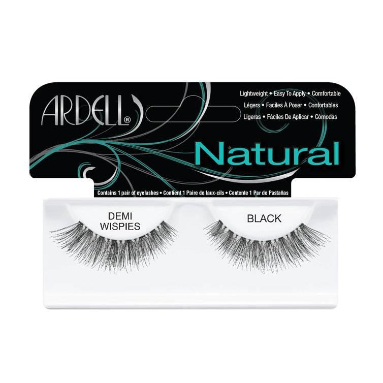 --Demi Wispies Black Lashes Ardell - Let it Be Beauty - Your Online Beauty Store--