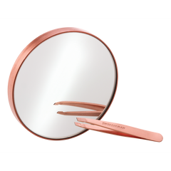 Rose Gold Mini Slant & 10x Mirror