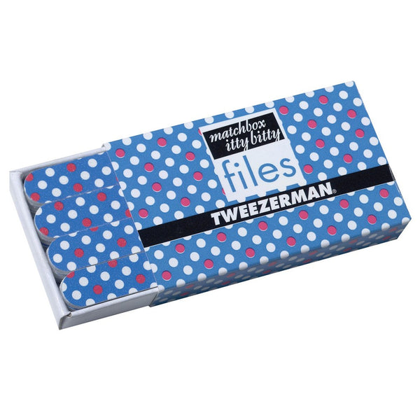 Matchbox Itty Bitty Polka Dot Files – Blue Tweezerman - Let it Be Beauty - Your Online Beauty Store
