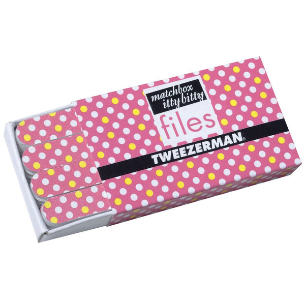 Matchbox Itty Bitty Polka Dot Files – Pink Tweezerman - Let it Be Beauty FREE Shipping on all orders
