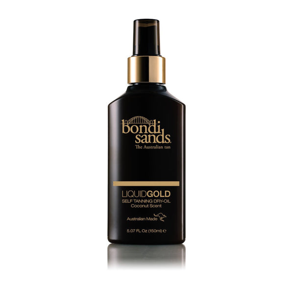 Liquid Gold Dry Tanning Oil Bondi Sands - Let it Be Beauty - FREE SHIPPING - Afterpay and zipPay available - Beauty products