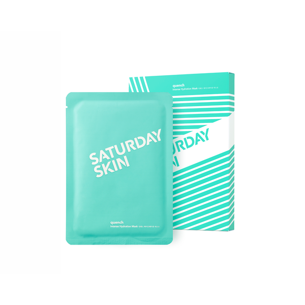 QUENCH Intense Hydration Mask Saturday Skin - Let it Be Beauty - Your Online Beauty Store