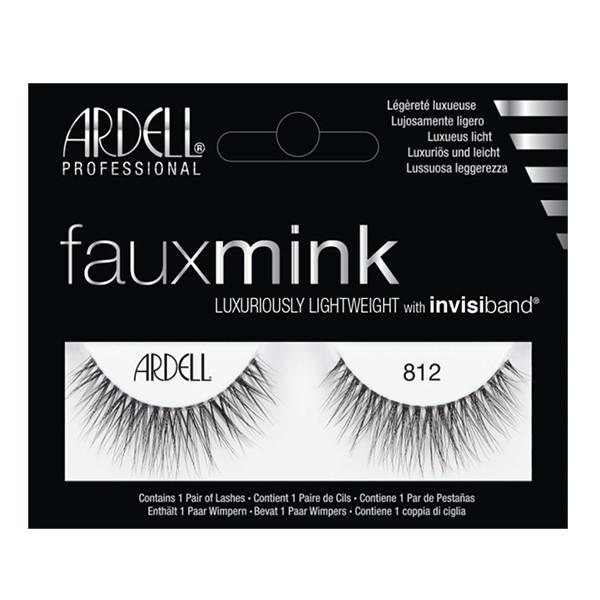 Faux Mink Lashes 812 Ardell - Let it Be Beauty - FREE SHIPPING - Afterpay and zipPay available - Beauty products