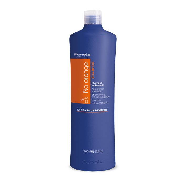 --Fanola No Orange Shampoo 1000ml Fanola - Let it Be Beauty - FREE SHIPPING - Afterpay and zipPay available - Beauty products--