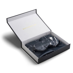 Black Marble Silk Gift Set