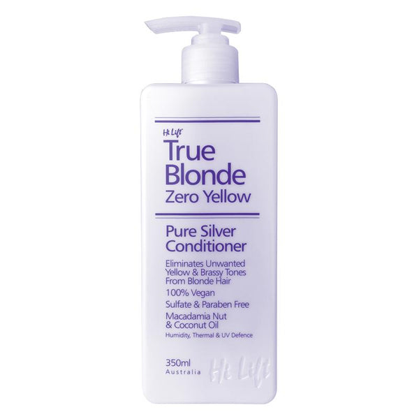 True Blonde Zero Yellow Conditioner Hi Lift - Let it Be Beauty FREE Shipping on all orders