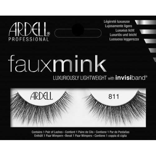 Faux Mink Lashes 811 Ardell - Let it Be Beauty - FREE SHIPPING - Afterpay and zipPay available - Beauty products