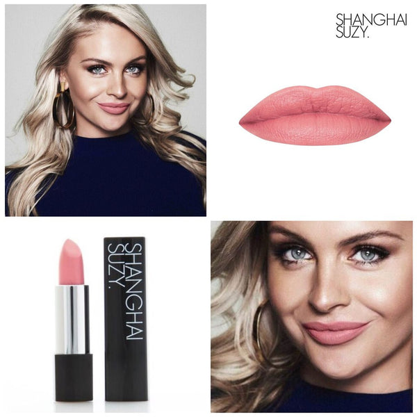 Miss Simone BABY CORAL - Whipped Matte Lipstick Shanghai Suzy - Let it Be Beauty FREE Shipping on all orders