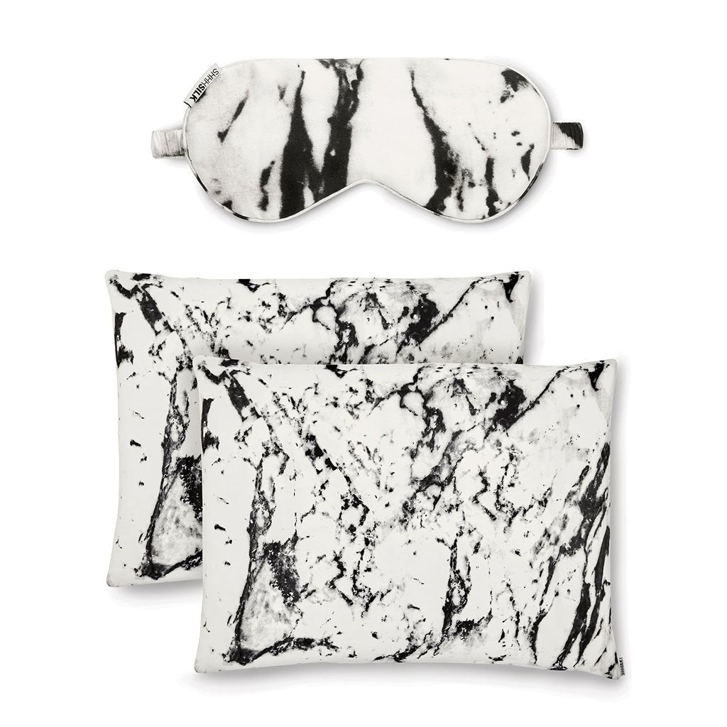 White Marble Silk Gift Set