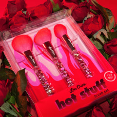 Hot Stuff Liquid Glitter Brush Set