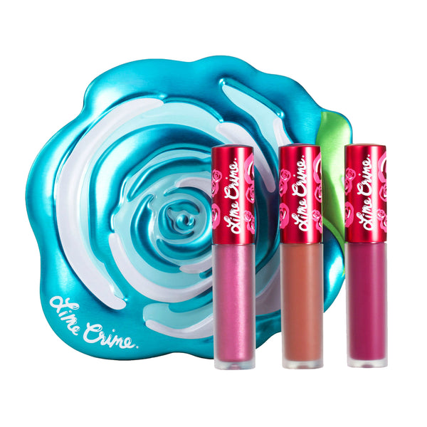 Blue Velve-tin Lime Crime - Let it Be Beauty - Your Online Beauty Store