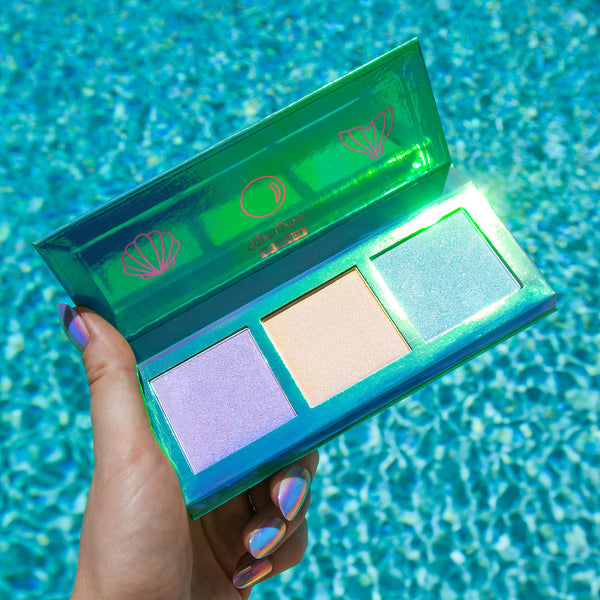 HI-LITE Mermaids -  Highlighter Powder Lime Crime - Let it Be Beauty FREE Shipping on all orders