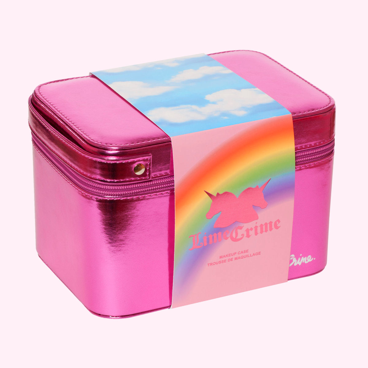 --10th Birthday Cosmetic Makeup Bag & Case--