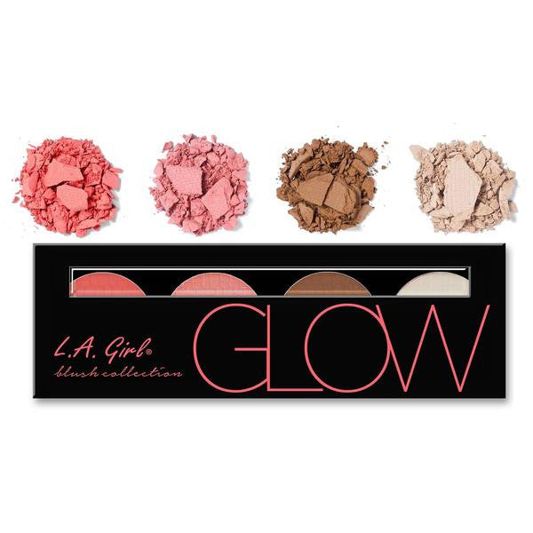 Glow - Beauty Brick Blush Palette L.A. Girl - Let it Be Beauty - Your Online Beauty Store