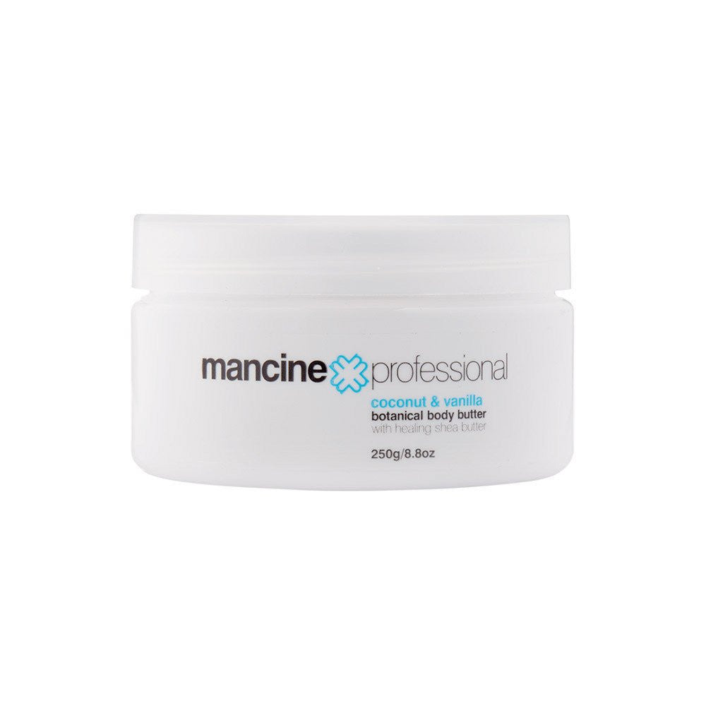--Coconut and Vanilla Botanical Body Butter Mancine Cosmetics - Let it Be Beauty - Your Online Beauty Store--
