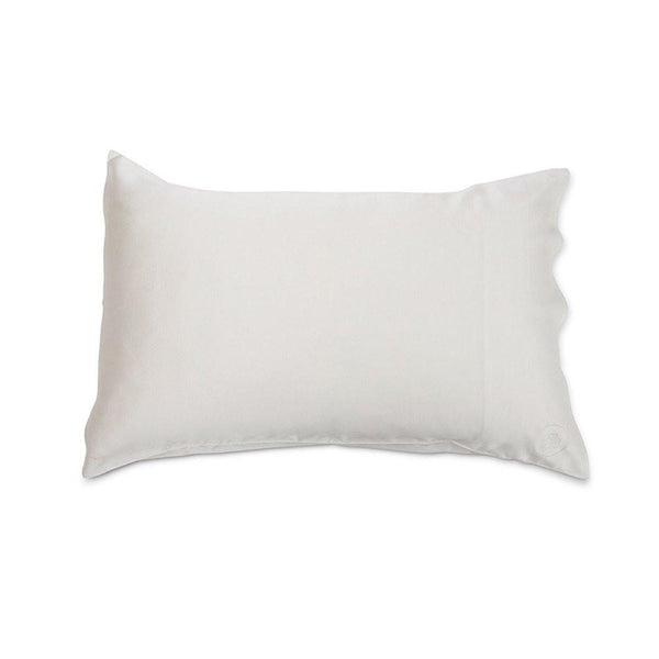 Silk Pillowcase - Natural White The Goodnight Co. - Let it Be Beauty FREE Shipping on all orders