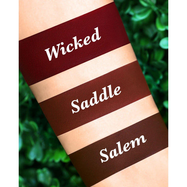 Saddle - Velvetine Liquid Matte Lipstick Lime Crime - Let it Be Beauty - Free Shipping on orders over $50