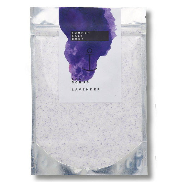 Lavender Salt Scrub Summer Salt Body - Let it Be Beauty - Free Shipping on orders over $50