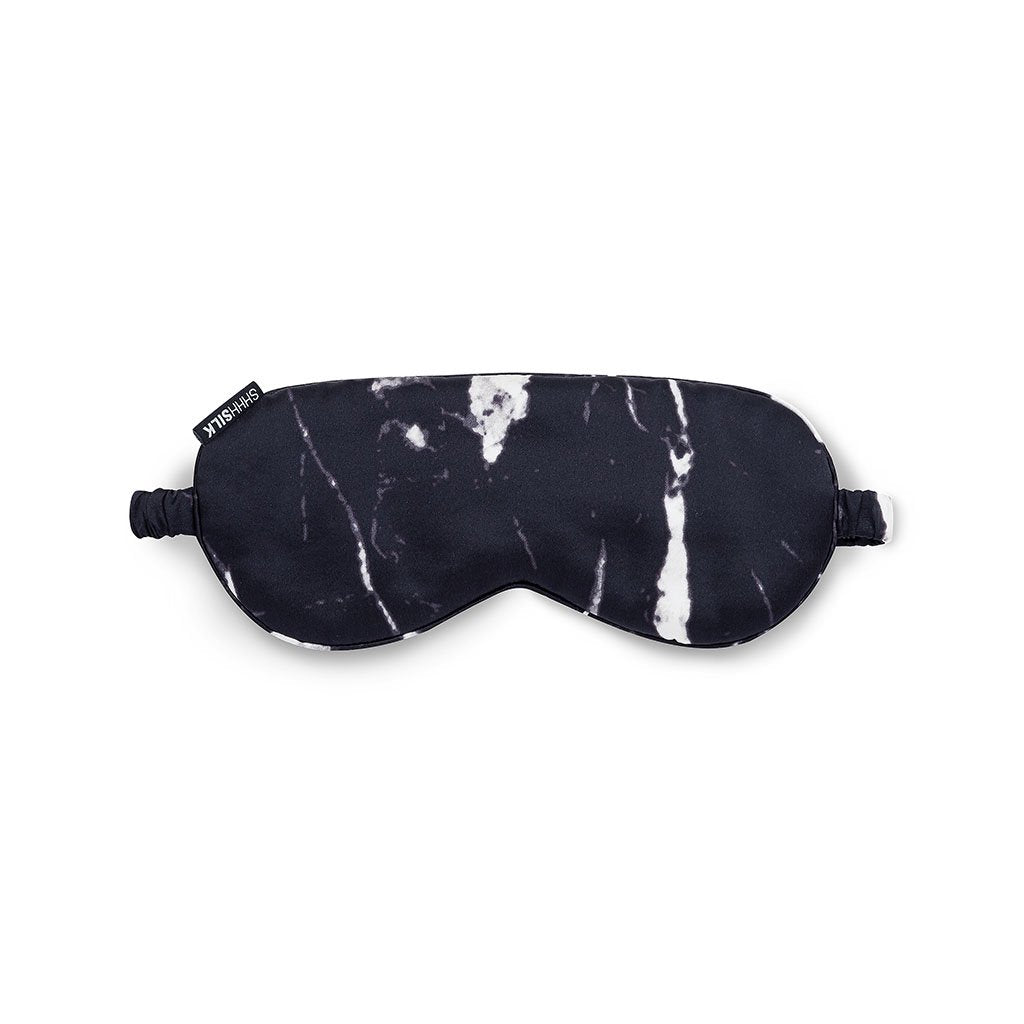 Black Marble Eye Mask