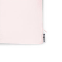 Single Pink Silk Pillowcase