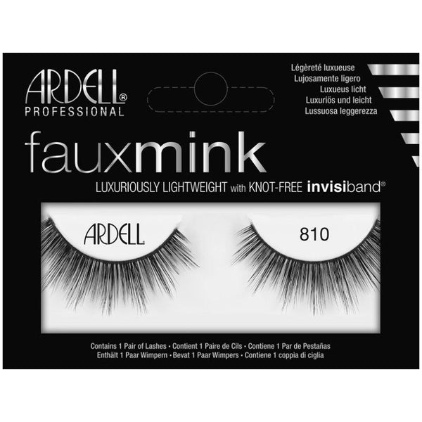 Faux Mink Lashes 810 Ardell - Let it Be Beauty - FREE SHIPPING - Afterpay and zipPay available - Beauty products