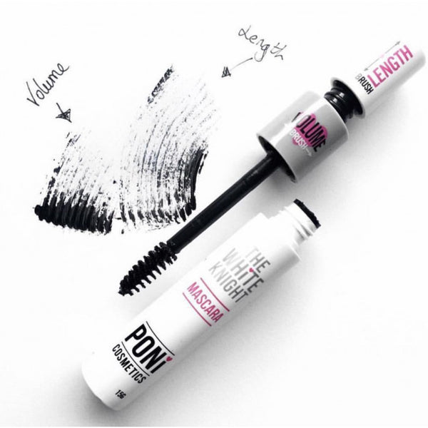 White Knight Mascara PONi Cosmetics - Let it Be Beauty - FREE SHIPPING - Afterpay and zipPay available - Beauty products