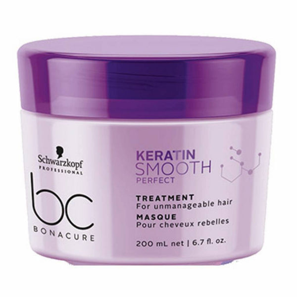 Schwarzkopf Bonacure Keratin Smooth Perfect Treatment 200ml Schwarzkopf - Let it Be Beauty - Your Online Beauty Store