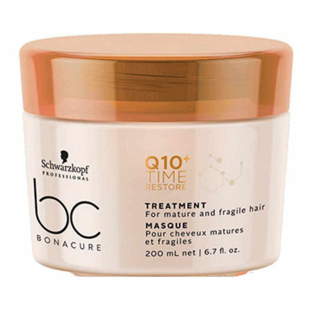--Bonacure Q10 Time Restore Treatment 200ml Schwarzkopf - Let it Be Beauty - Your Online Beauty Store--