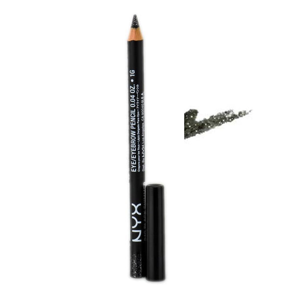 Black Shimmer 940 Slim Eye Pencil - Eye and Eyebrow
