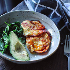 Victoria's Turmeric Fried Eggs