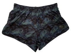 Multicam Black Naked Warrior Camo Silkies Fight Shorts | Sunga Life