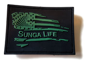 Hard Rubber PVC Velcro Patch | Sunga Life
