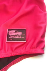 Hot Pink Lycra Brazilian Sunga Swimwear | Sunga Life