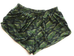 Naked Warrior Jungle Camo Silkies Fight Shorts | Sunga Life