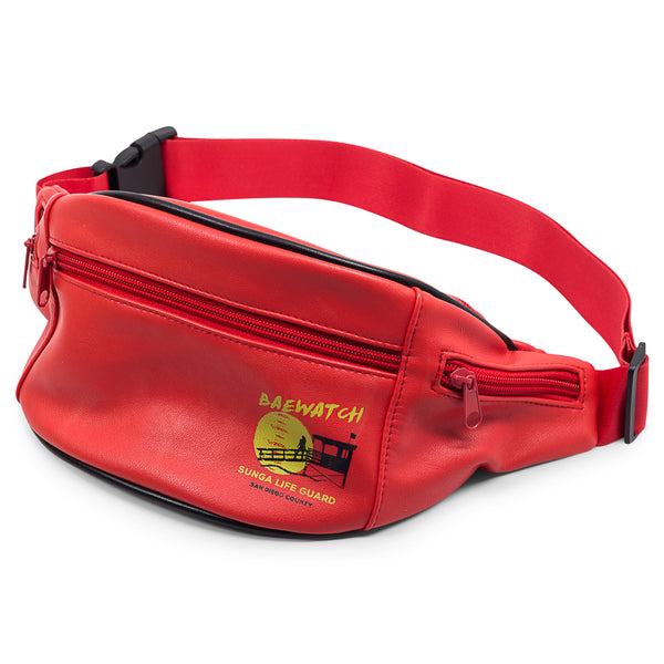BAEWATCH Sunga Life Guard Fanny Pack for Beach or Festival | Sunga Life